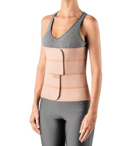 faixa cinta abdominal elástica 4 painéis g/gg hidrolight