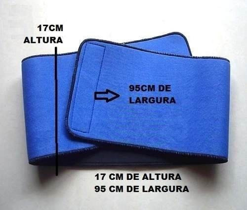 faixa cinta abdominal neoprene  17