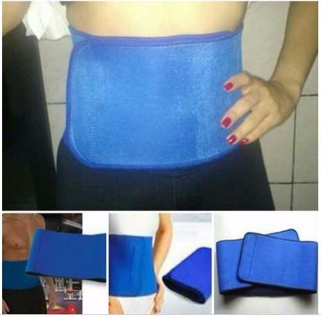 faixa cinta abdominal neoprene unisex modelador redutor