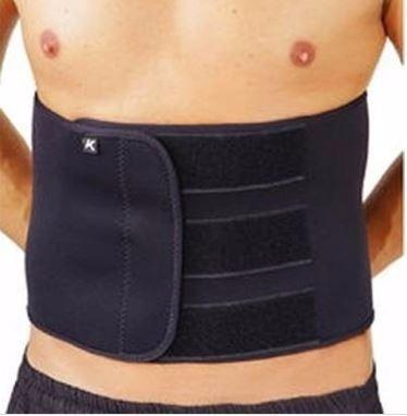 faixa cinta abdominal neoprene unissex shape now modelador