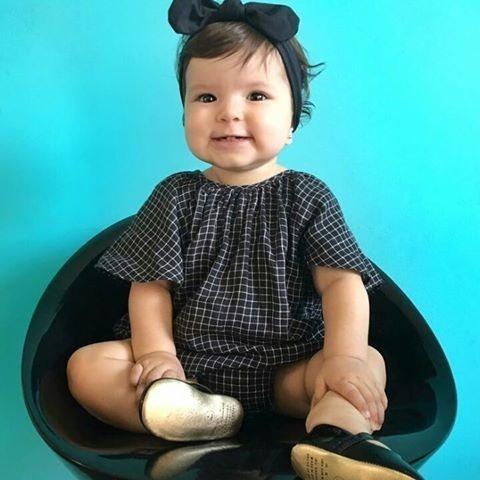 faixa de cabelo turbante laço acessório bebê menina promo