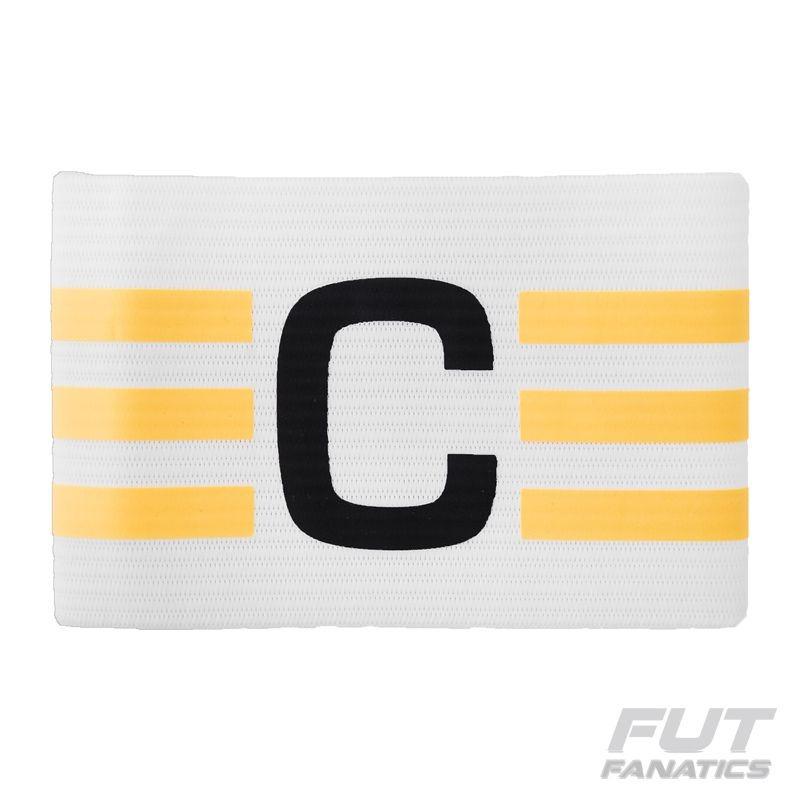 bed462a1fcaac Faixa De Capitão adidas Branca - Futfanatics - R$ 49,90 em Mercado Livre