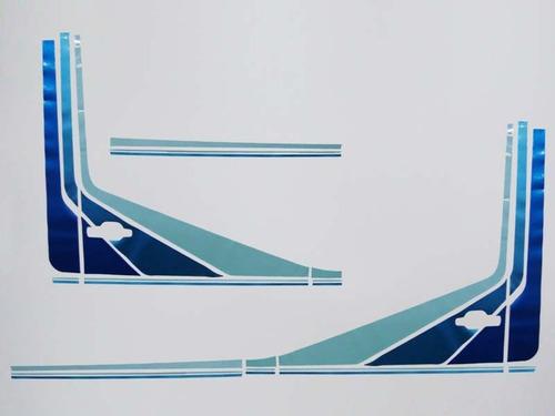 faixa decorativa adesivo caminhão mercedes benz 1992 bicudo