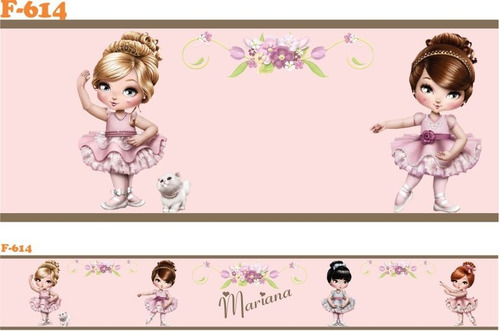 faixa decorativa adesivo parede infantil bebe jolie