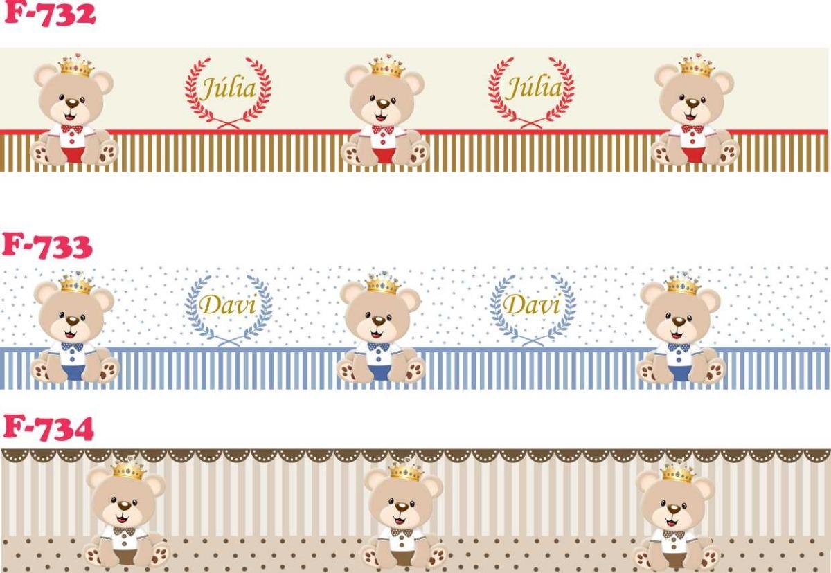 5f4260abd faixa decorativa adesivo parede infantil bebe ursinho. Carregando zoom.