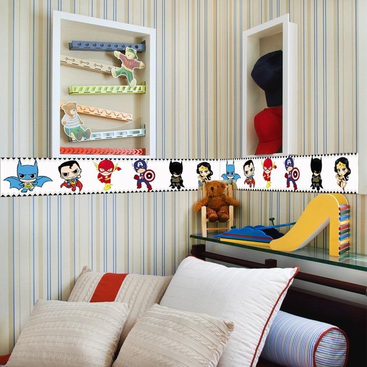 1d7e11aac Faixa Decorativa Borde - Quarto De Bebê - Infantil Kit 5 Mts - R  59 ...