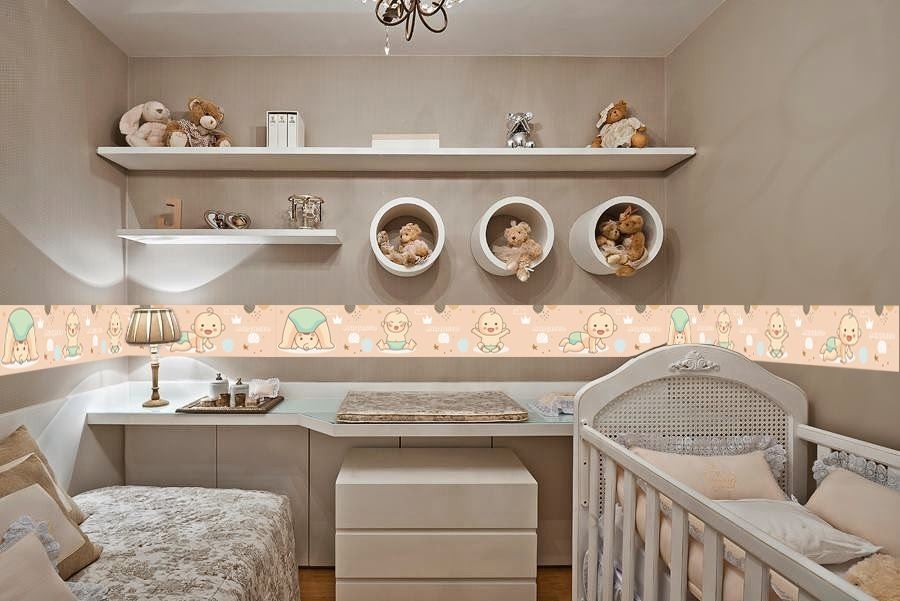 00f073080 faixa decorativa borde - quarto de bebê - infantil kit 5 mts. Carregando  zoom.