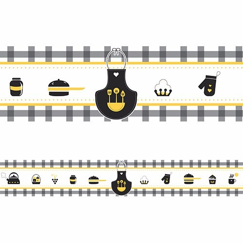 faixa decorativa border - comida japonesa 15 metros
