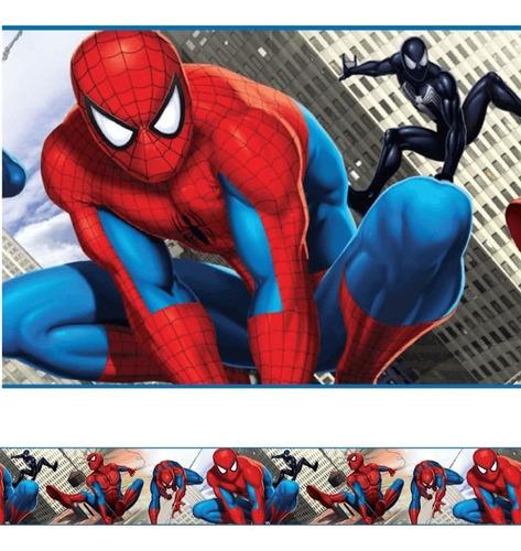 faixa decorativa de parede infantil bebê border homem aranha