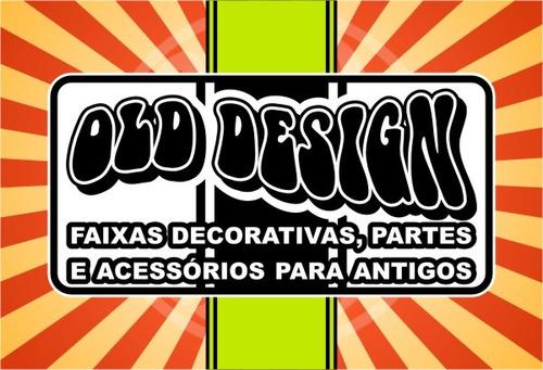 faixa decorativa dodge magnum 79 original 3m - old design