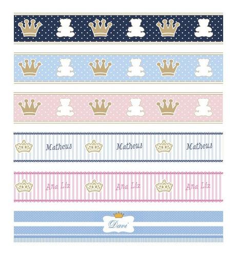 faixa decorativa papel de parede border para bebê snoopy
