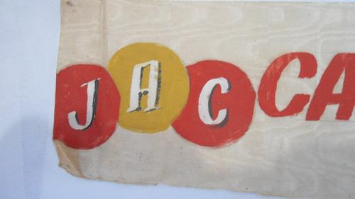 faixa do jabquara a. clube - campeão juv.  1954