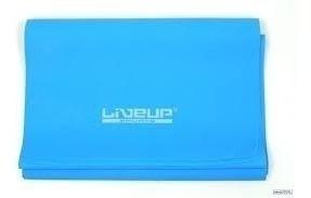 faixa elástica tipo thera band latex - liveup(forte) azul