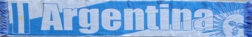 faixa esportiva - cachecol da argentina