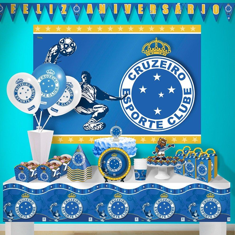 e4937467d68f2 faixa feliz aniversário para festa do cruzeiro esporte clube. Carregando  zoom.