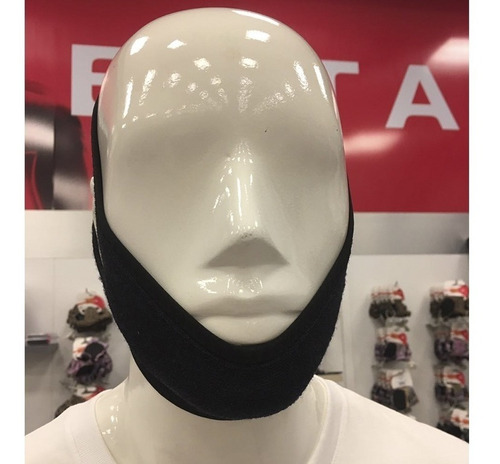faixa mandibular anti-ronco preto ksn056 kestal