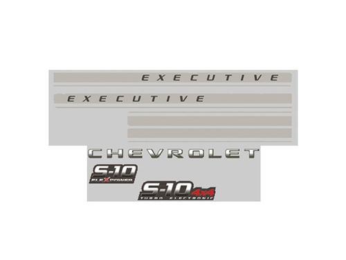 faixa original s10 2009 executive cd grafite