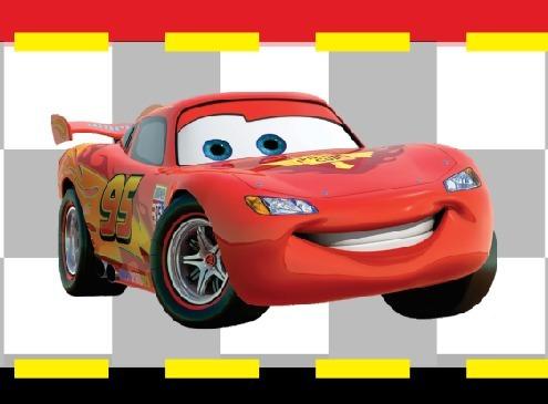 Faixa Personalizada Carros Disney Relampago Mcqueen Desenho R