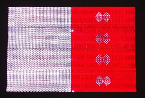 faixa refletiva caminhao-cuidado faixas de 1,80 são falsas