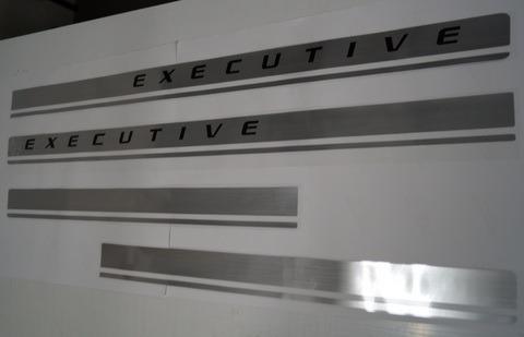 faixa s10 executive 2009 acima - frete gratis