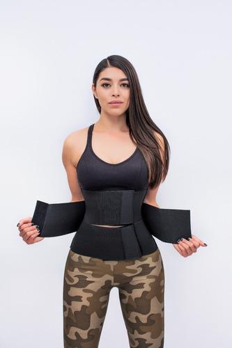 faja 3 velcros mujer moldeadora de cintura envio gratis