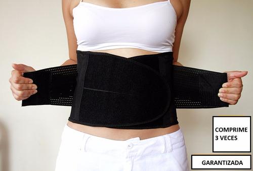 faja 70 30 cintura moldeadora  3 2 pasos talla unica slim