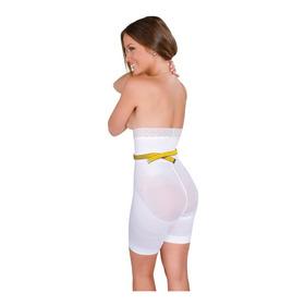 Faja Body Boxer Con Banda Body Siluette Alto Control 102