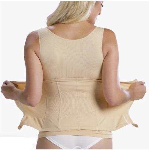 faja broche corset doble reductora y moldeadora para dama