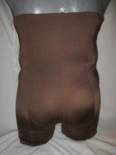 faja calzon cafe con pierna talla 3 x extragrande p-gordita