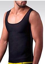 faja camiseta esqueleto hombre shapers suda gym + obsequio