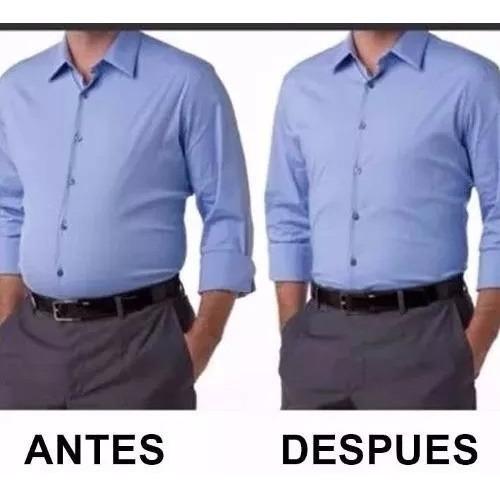 faja camiseta hombre uso diario comprime abdomen reduce