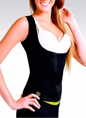 faja chaleco mujer redu shaper senos libres ejercicio sudar