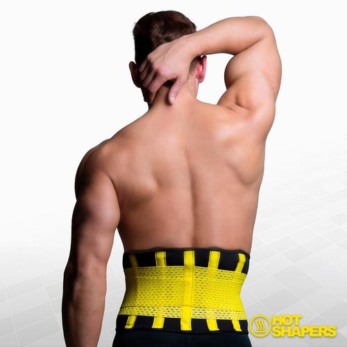 faja cinturilla compr hombre hot belt power extreme s/m +gel