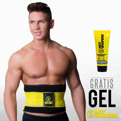 faja cinturilla compre hot belt power extreme + gel homb s/m