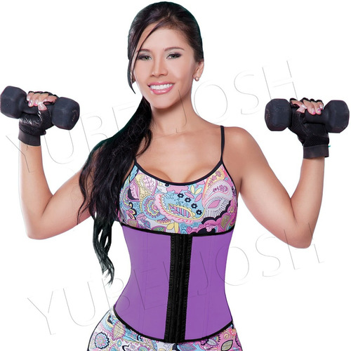 faja cinturilla deportiva látex reduce abdomen 852