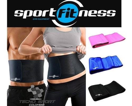 faja cinturilla sportfitness neopreno moldeadora gym unisex