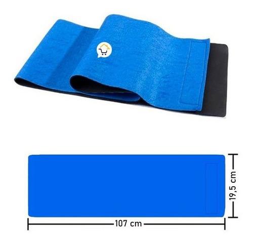 faja cinturilla térmica neopreno unisex reductora rf 018