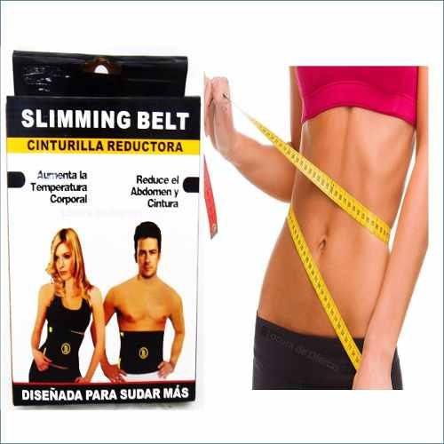 faja cinturilla térmica slimming belt banda ajustable reduce