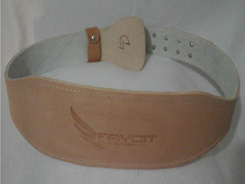 faja cinturon de piel acojinada para gym+ envió gratis