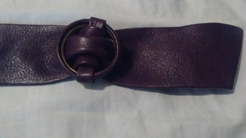 faja cinturón violeta retro