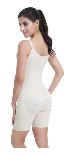 faja colombiana con powernet y latex - waist trainer sdmed