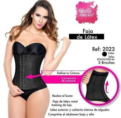faja colombiana original uso diario y ejercicio bella michel