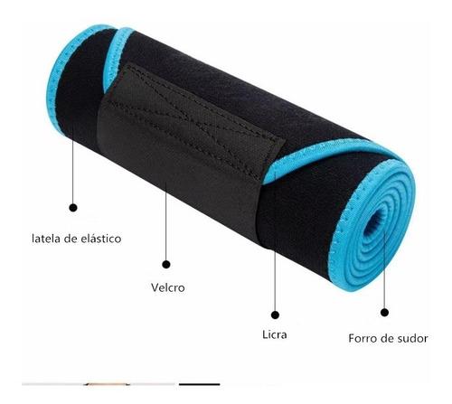 faja con bandas de ajuste gym