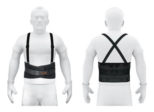 faja con  tirantes y cinturon ajustables mediana truper 14216 envio inmediato!!