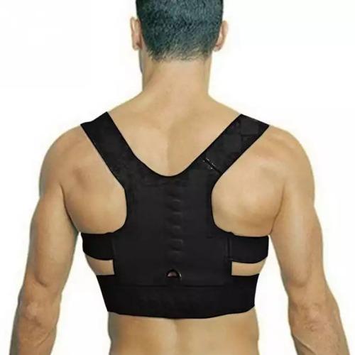 faja corrector de postura imanes terapeuticos alivia espalda