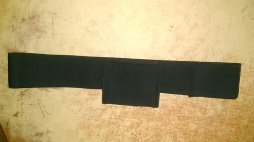 faja elástica 3  táctica p/armas ambidextra m, l, xl