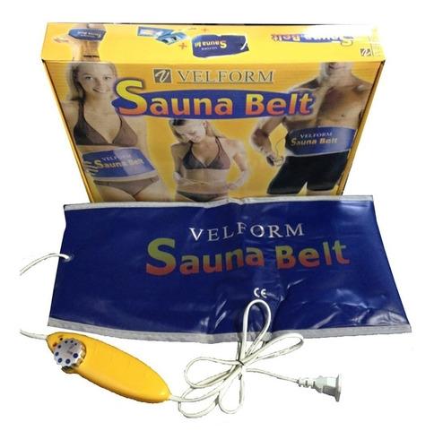 faja eléctrica sauna belt térmica - velform reductor con ter