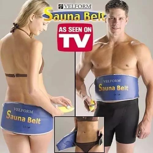 faja eléctrica sauna belt térmica - velform reductor nueva
