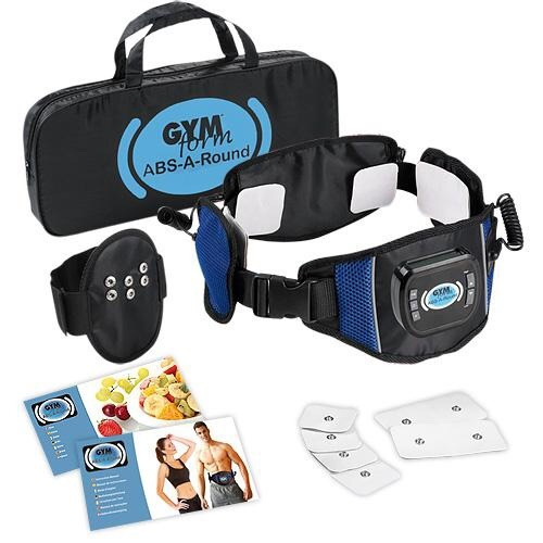 faja gym form abs round 360 grados electro estimula abtronic