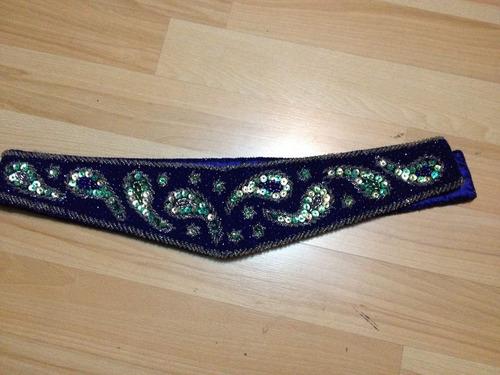 faja integramente bordada para niñas danza arabe belly dance